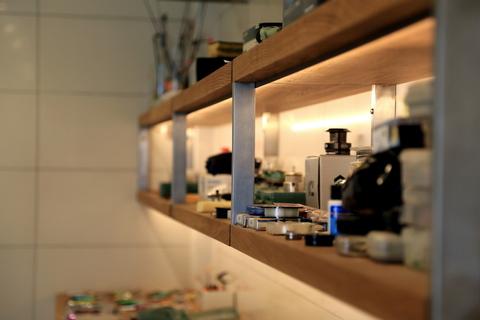 TRIF-MEBEL | Реализованный объект - стеллажи для гаража с подсветкой и полки для кладовки