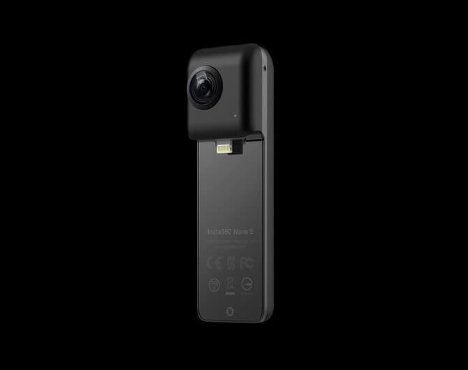 Insta360 Nano S Black - лучшая камера для съемки 360 градусов