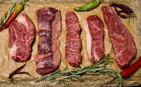Основные виды стейков мраморной говядины