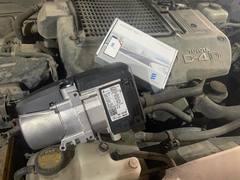 Установка предпускового подогревателя на Toyota Land Cruiser Prado LC120