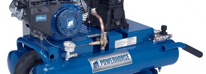 Бензиновые компрессоры - мобильные установки для производства сжатого воздуха