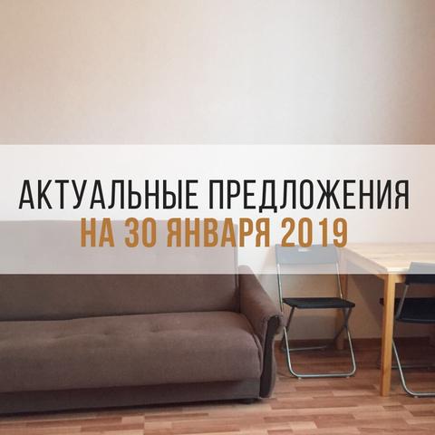 Актуальные предложения на 30 января 2019