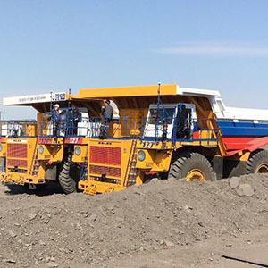 Роботизированные «БЕЛАЗы» готовы к работам на угольном разрезе