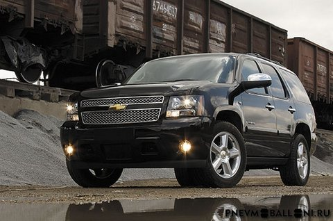Установка пневмобаллонов на Chevrolet Tahoe (GMT900)