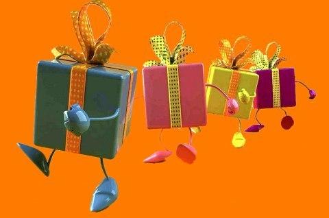 Подарки в СЦ
