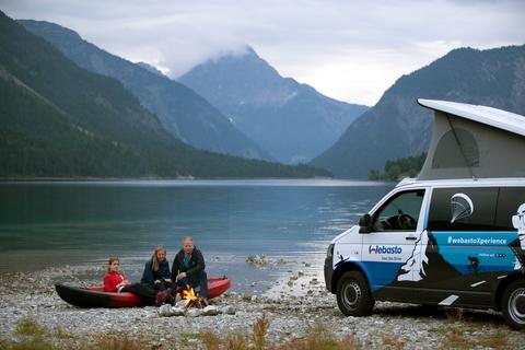 Webasto разыгрывает зимние приключения по всей Европе на автомобиле WebastoXperience-Car