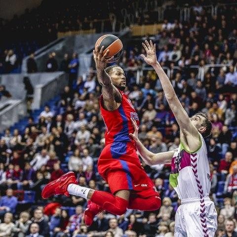 ЦСКА победил в первом домашнем матче ТОП-16 Евролиги