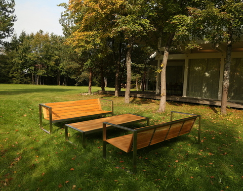 Designer Garden Furniture For A Country Residence: New Completed Project In Suburban St. Petersburg