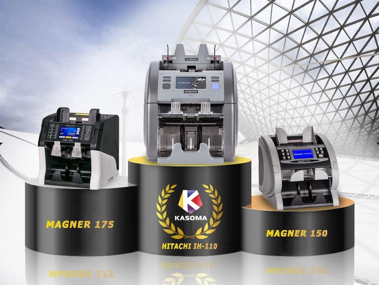 Magner 150 / magner 175 сравниваем с счетно-денежной машиной HITACHI iH-110