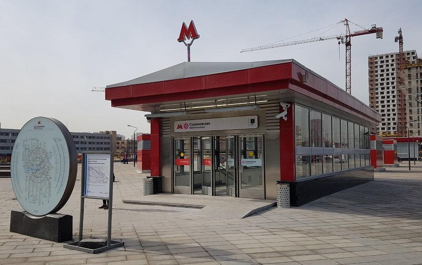 Новая станция метро рядом с нами