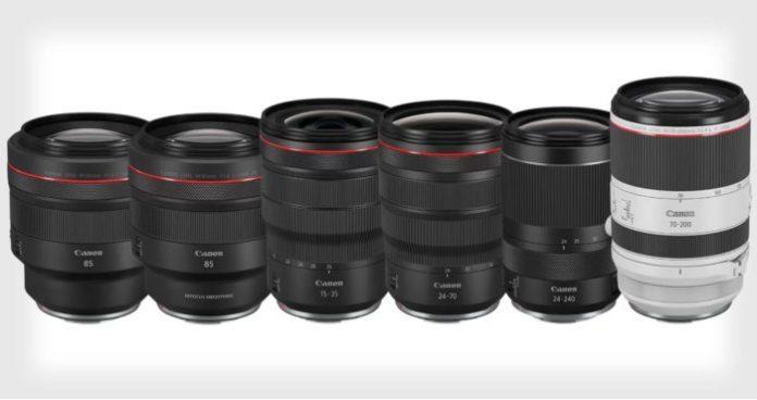 Canon представят объективы RF: 100-400mm, 24mm Macro и 18-45mm
