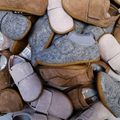 Делайте первые шаги с обувью Viking!