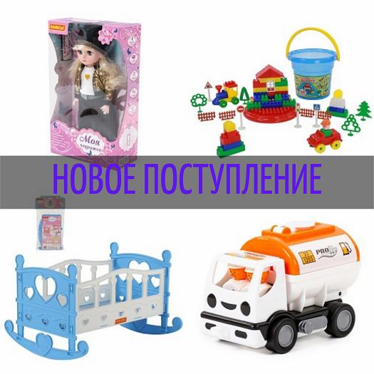 №75 Новое поступление игрушек Полесье