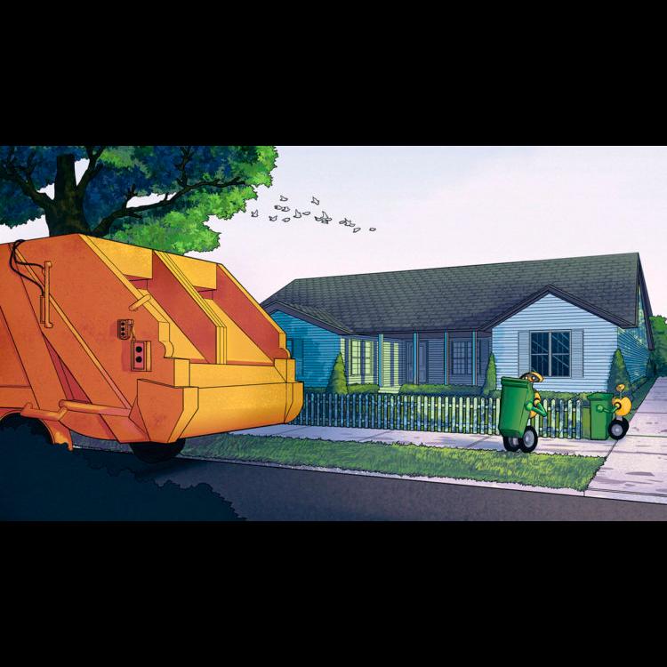 Сборщик мусора от Volvo