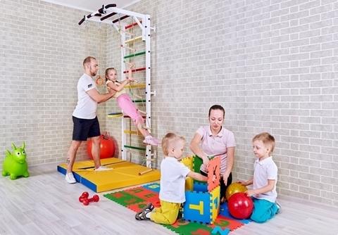 4 причины, по которым вам стоит выбрать  шведскую стенку для всей семьи