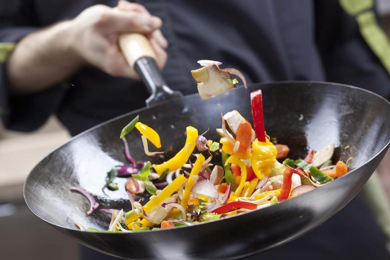 5 способов готовки в воке