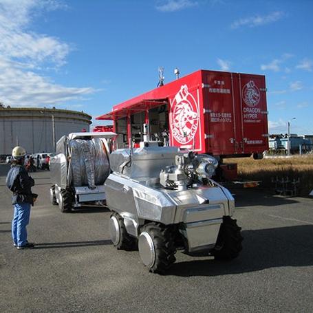 Роботы-пожарные от Mitsubishi