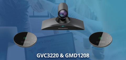 Новые решения Grandstream: система Ultra HD конференц-связи и беспроводной микрофон