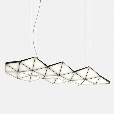 Tri Light от дизайн-студии Asobi: светодиодная сотовая структура