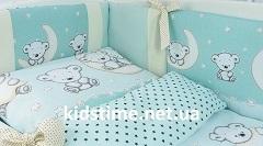 Як вибрити постільні комплекти в дитяче ліжечко для немовлят