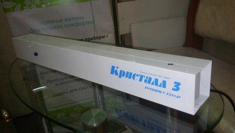 Где применяется бактерицидный облучатель Кристалл-3