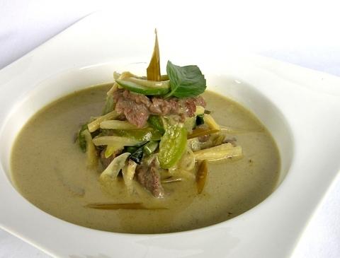 Готовое блюдо — Зеленое карри