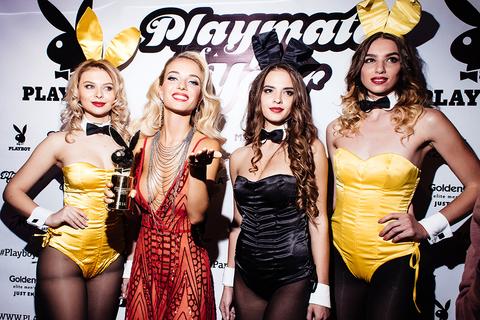 PESAVENTO на церемонии награждения девушки года по версии журнала Playboy.