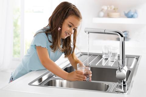 Качество воды после фильтра становится на порядок выше
