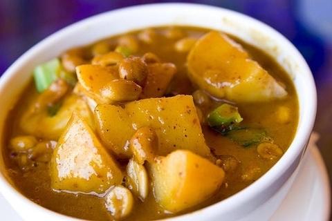 Готовое блюдо — Массаман карри