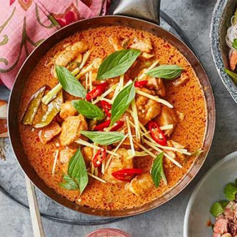 Готовое блюдо — Красное карри