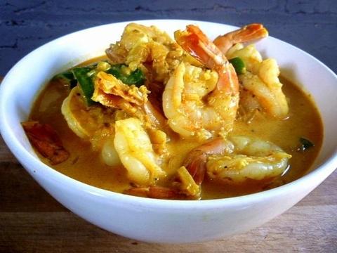 Готовое блюдо — Пинанг карри