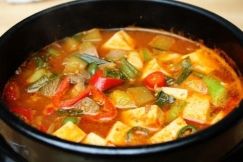 Готовое блюдо — Классический корейский соевый суп