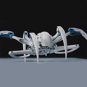 Робот-паук BionicWheelBot превращается в шар