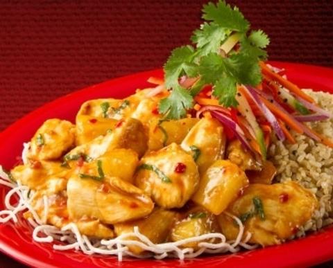 Готовое блюдо — Сладкая курица Пей Вей