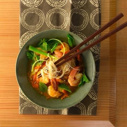 Готовое блюдо — Суп с рисовой лапшой