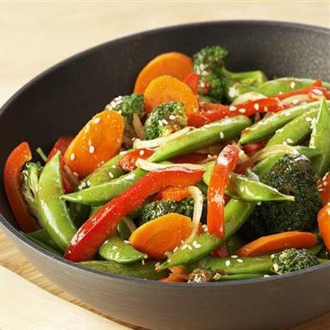 Готовое блюдо — Овощи по-китайски