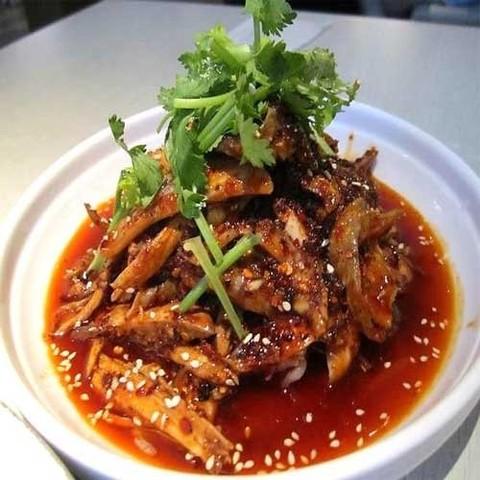 Готовое блюдо — Рыба по-сычуаньски