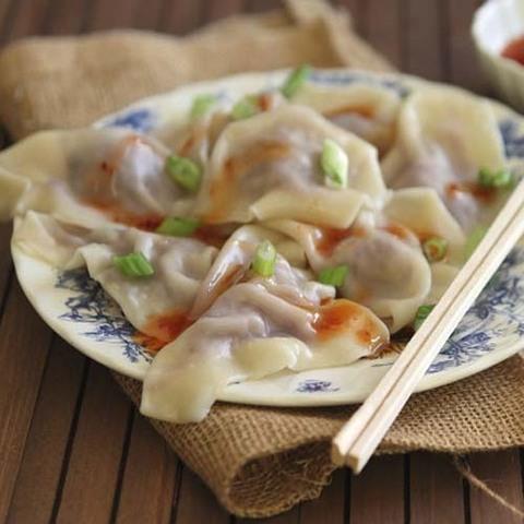 Готовое блюдо — Китайские пельмени