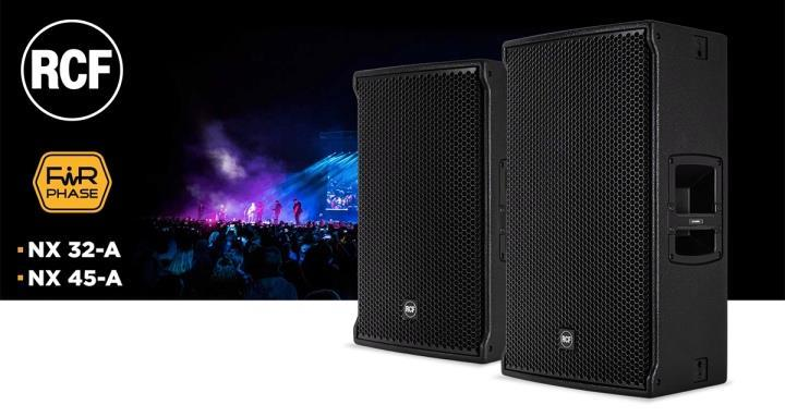 RCF NX 45-A и NX 32-A широкополосные акустические системы