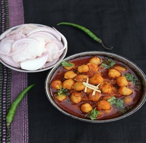 Готовое блюдо — Панджаби Чана (белый нут со специями)