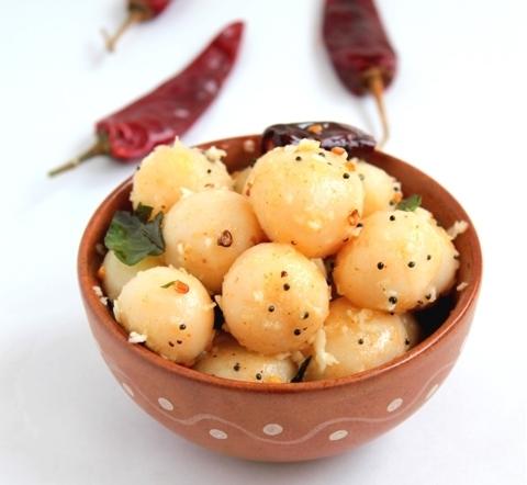 Готовое блюдо — Индийские рисовые шарики