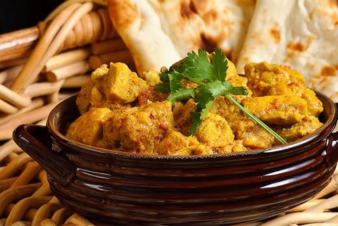 Готовое блюдо — Индийское карри