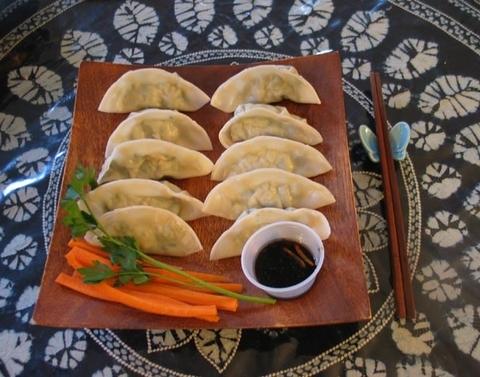 Готовое блюдо — Цзаоцзы со свининой