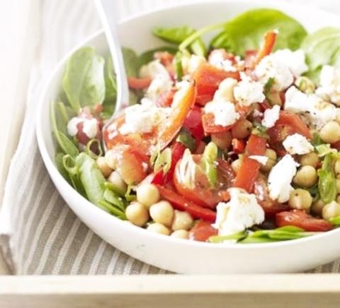 Готовое блюдо — Салат с сыром фета