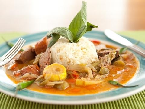 Готовое блюдо — Тайское кантри карри