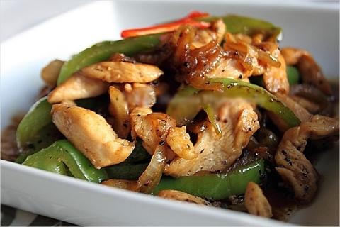 Готовое блюдо — Курица в перечном соусе