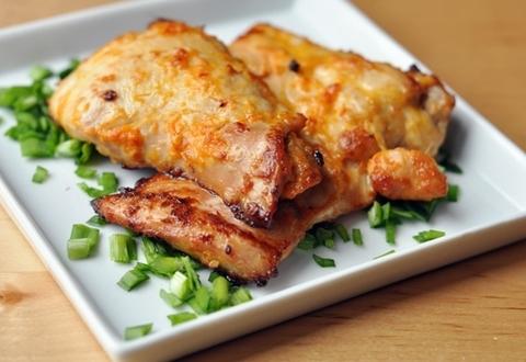 Готовое блюдо — Курица с соево-имбирной корочкой
