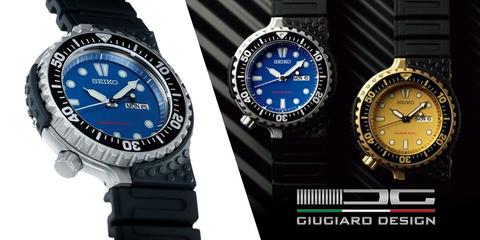Новые Seiko Diver Scuba от Giugiaro Design
