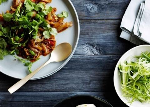 Готовое блюдо — Говядина по-сычуаньски