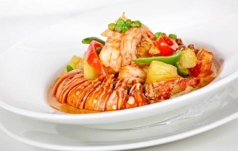 Готовое блюдо — Красное карри с Пад Тхай